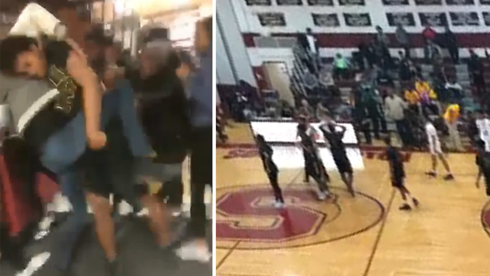 Large Brawl After High School Basketball Game Under Investigation On Long Island Abc7 New York