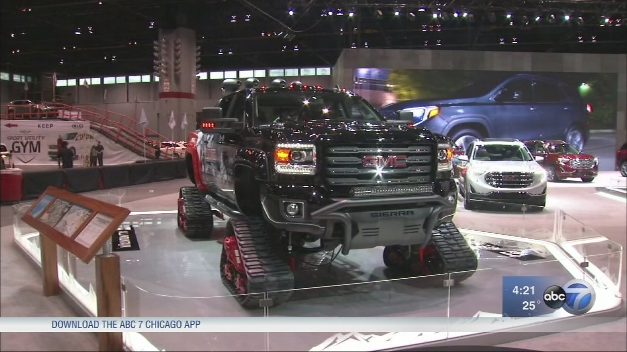 Chicago Auto Show Big Truck Concepts Sporty Speed Machines - Car show app