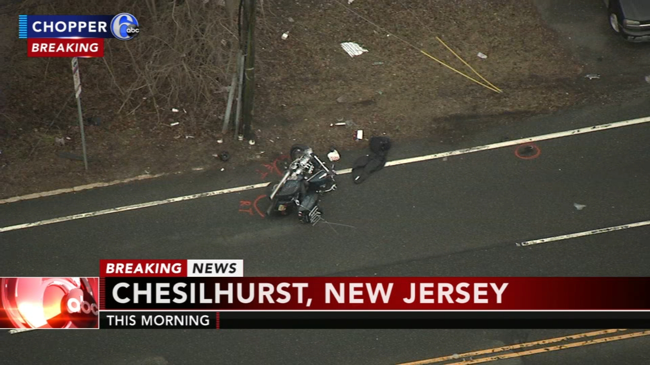 Deadly motorcycle crash