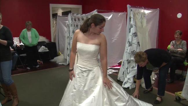 Brides Against Breast Cancer holds wedding dress sales in Skokie ...