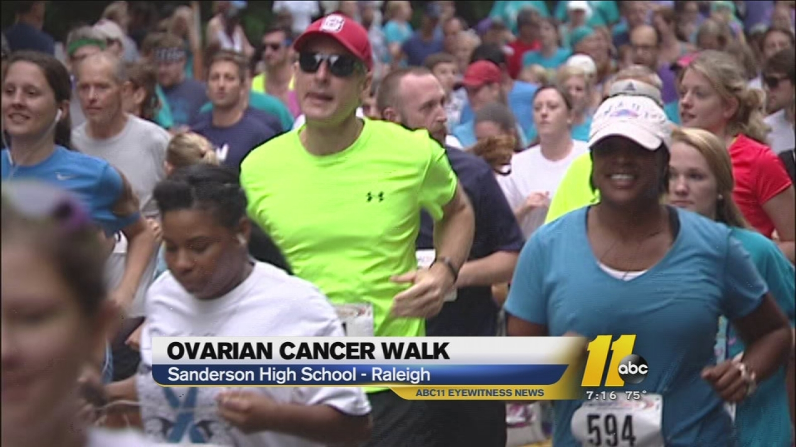 Raleigh Walkers And Runners Raise Money For Ovarian Cancer Research Abc11 Raleigh Durham