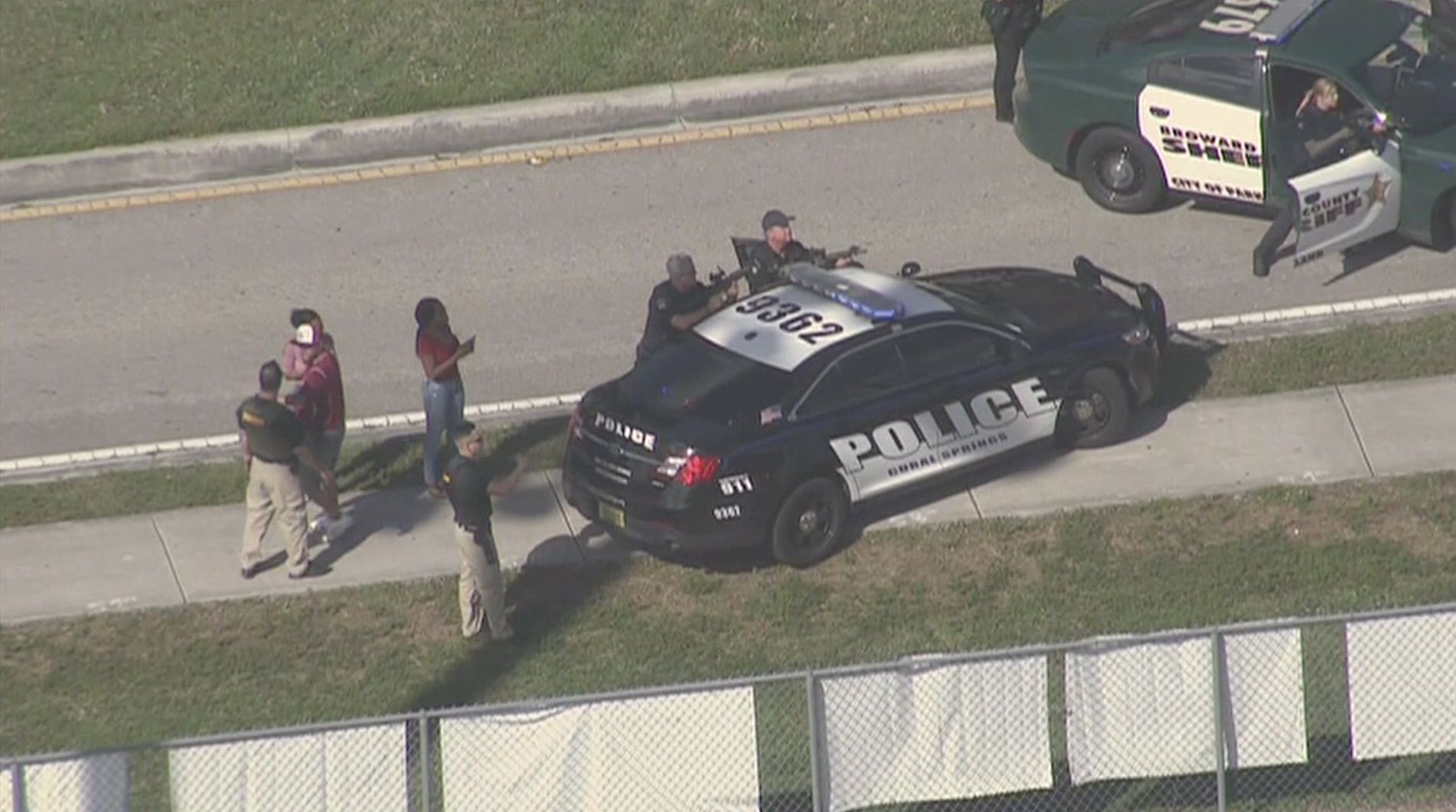 <div class='meta'><div class='origin-logo' data-origin='Creative Content'></div><span class='caption-text' data-credit='WSVN via CNN'>Authorities are responding to reports of shots fired at a Florida high school.</span></div>