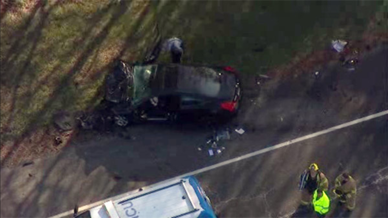 Medical chopper called to crash on Route 55 in Glassboro