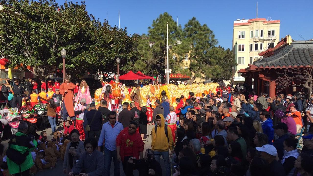 San Francisco Hosts Lunar New Year Parade Abc7newscom