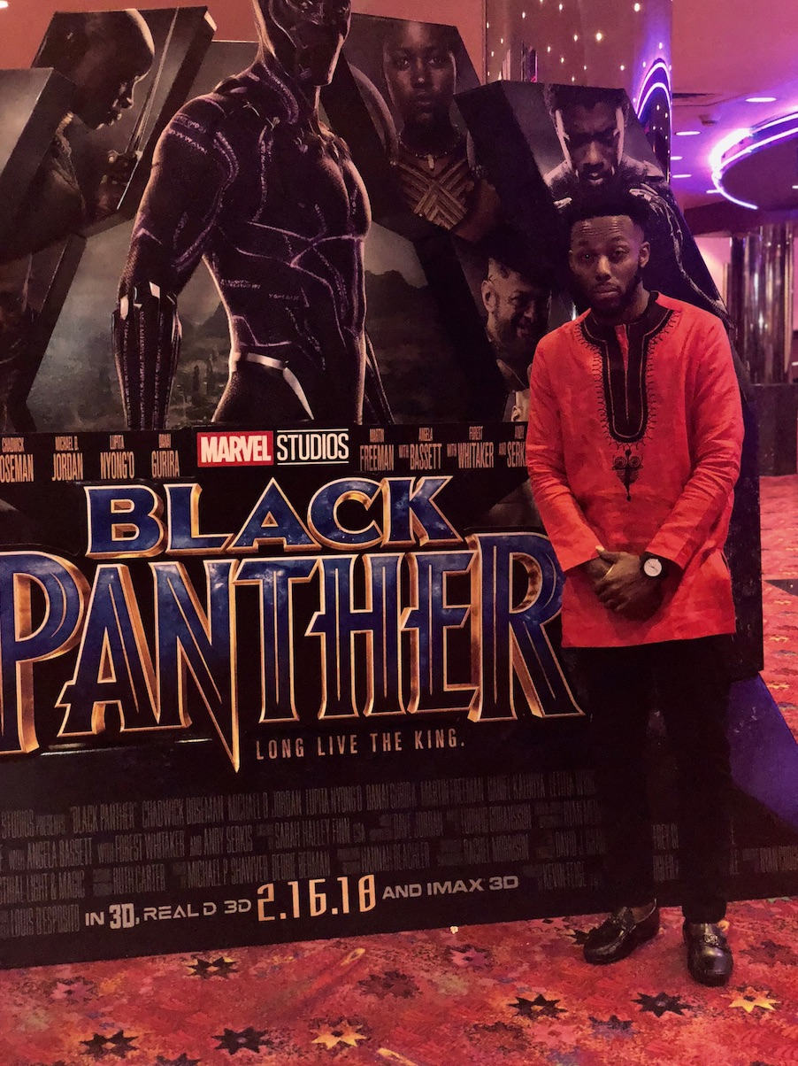 <div class='meta'><div class='origin-logo' data-origin='Creative Content'></div><span class='caption-text' data-credit=''>Fans arrive for a screening of &#34;Black Panther.&#34;</span></div>