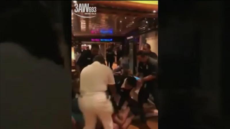 Carnival cruise turns into bloody brawl