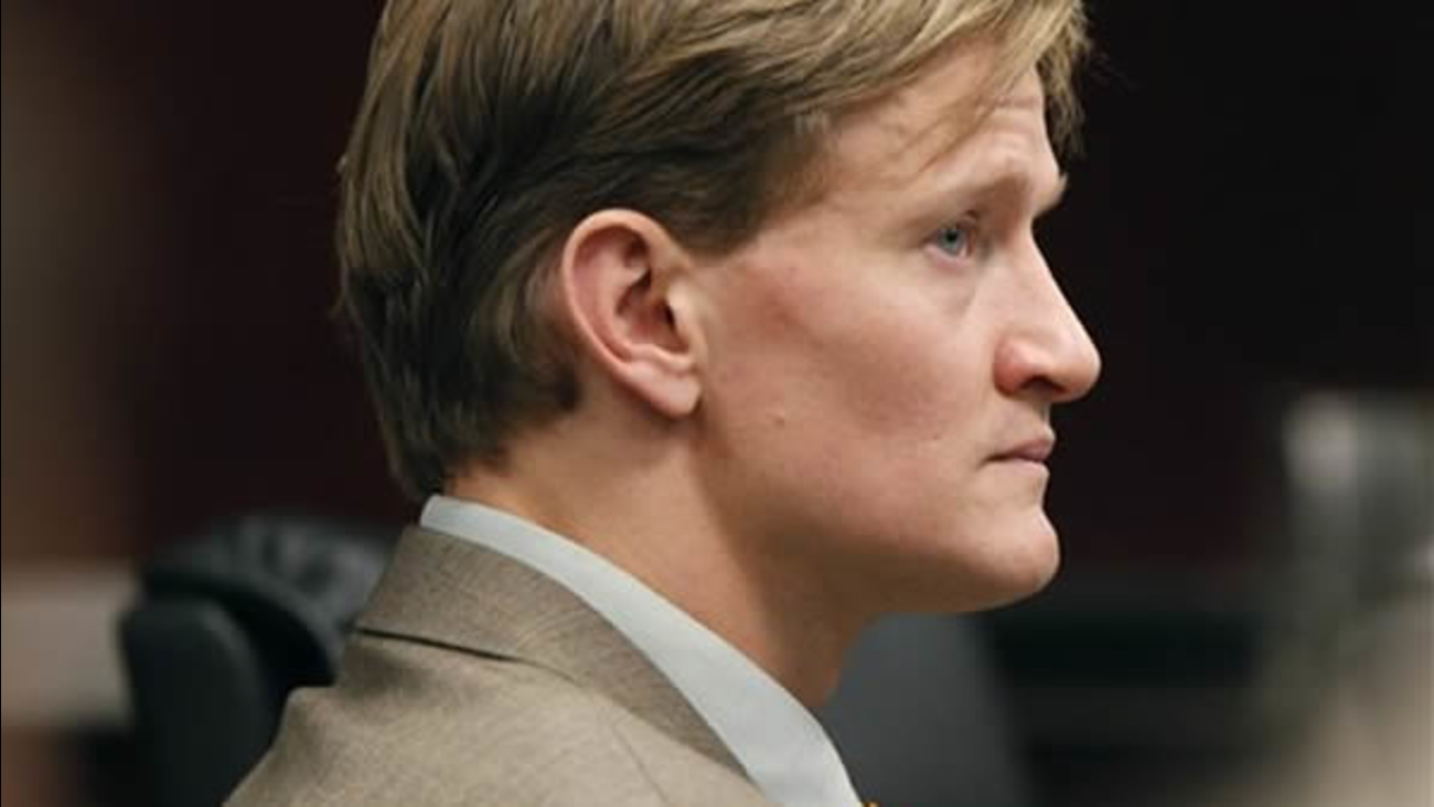 Jason Young listens to testimony.