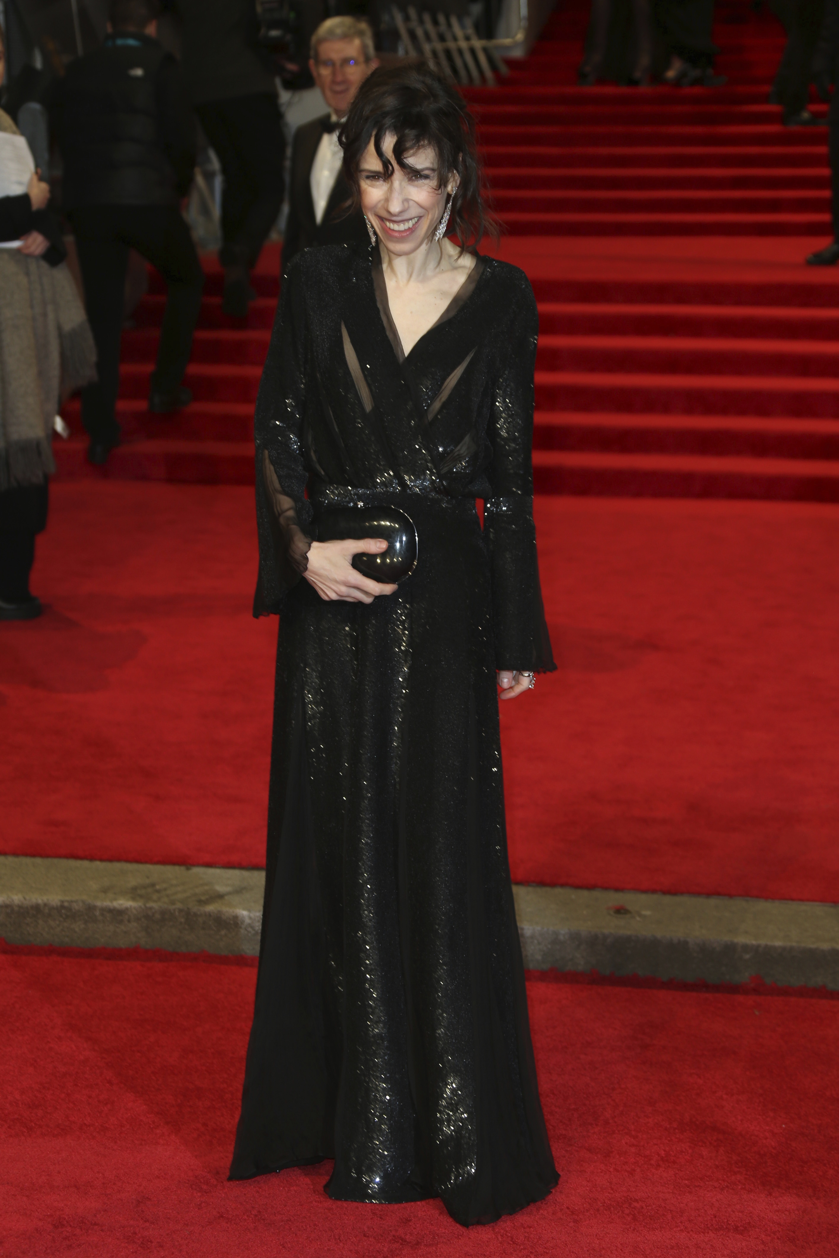 <div class='meta'><div class='origin-logo' data-origin='AP'></div><span class='caption-text' data-credit='Joel C Ryan/Invision/AP'>Actress Sally Hawkins poses for photographers upon arrival at the BAFTA 2018 Awards in London, Sunday, Feb. 18, 2018.</span></div>