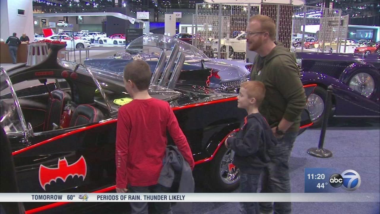 Monday Is Final Day For Chicago Auto Show Abcchicagocom - Car show tomorrow
