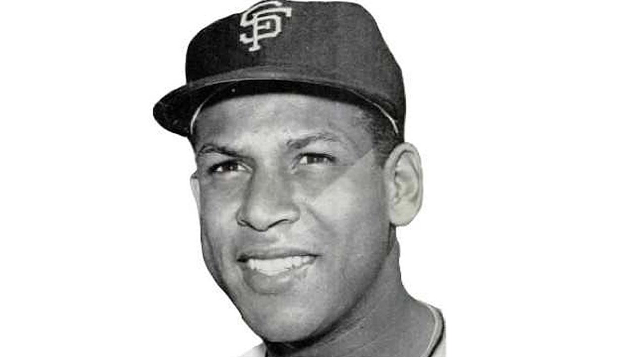 Former San Francisco Giant Orlando Cepeda appears in 1962.