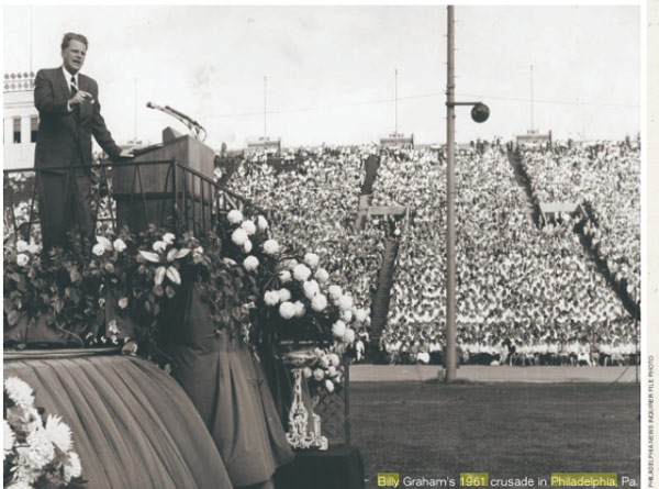 "<div class=""meta image-caption""><div class=""origin-logo origin-image none""><span>none</span></div><span class=""caption-text"">Evangelist Billy Graham holds month-long crusade in Philadelphia in 1961. (Philadelphia Inquirer)</span></div>"