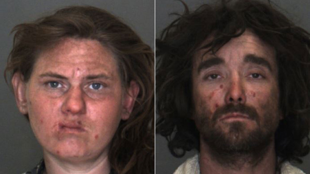Sara Wilson, 32, and Roy Ling, 35, are shown in mugshots.