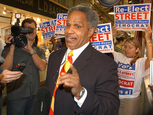 <div class='meta'><div class='origin-logo' data-origin='none'></div><span class='caption-text' data-credit=''>Philadelphia Mayor John Street speaks to the press after campaigning in the Reading Terminal Market in Philadelphia Monday Nov. 3, 2003.</span></div>