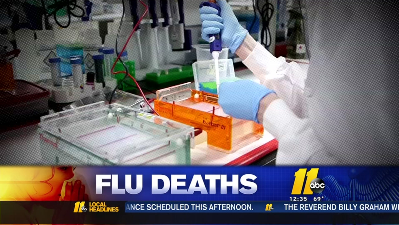 7 new flu deaths reported, 305 for NC season