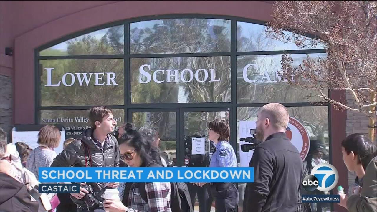 Santa Clarita Valley International School Lockdown Lifted After Threat Investigation Student Detained Abc7 Los Angeles