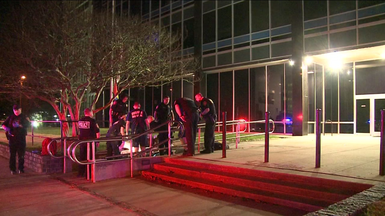 Man found stabbed outside Durham Police Headquarters