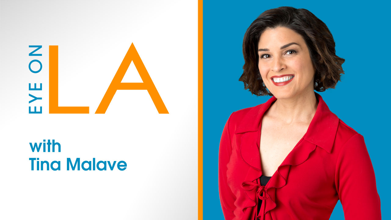 Tina Malave hosts ABC7's iconic Eye on L.A.