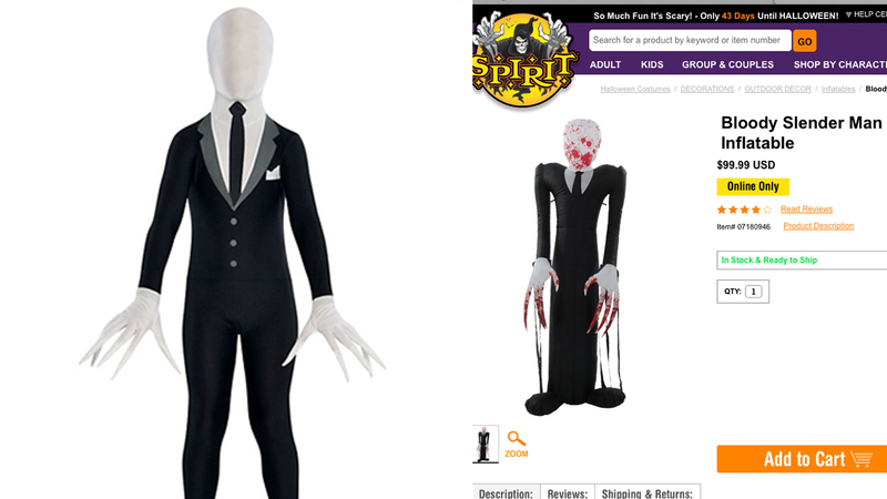wisconsin community outraged over sale of slender man halloween costume where teen was stabbed