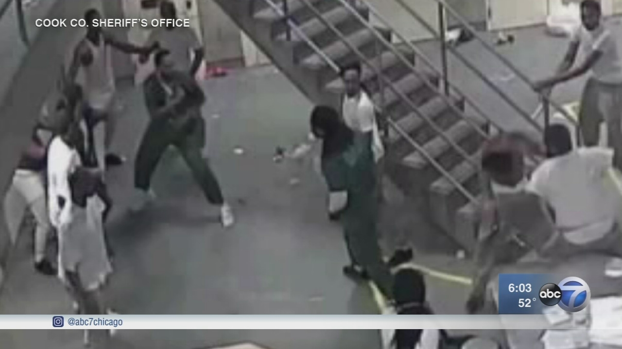 Video Evidence New Charges Against 16 Inmates In Cook
