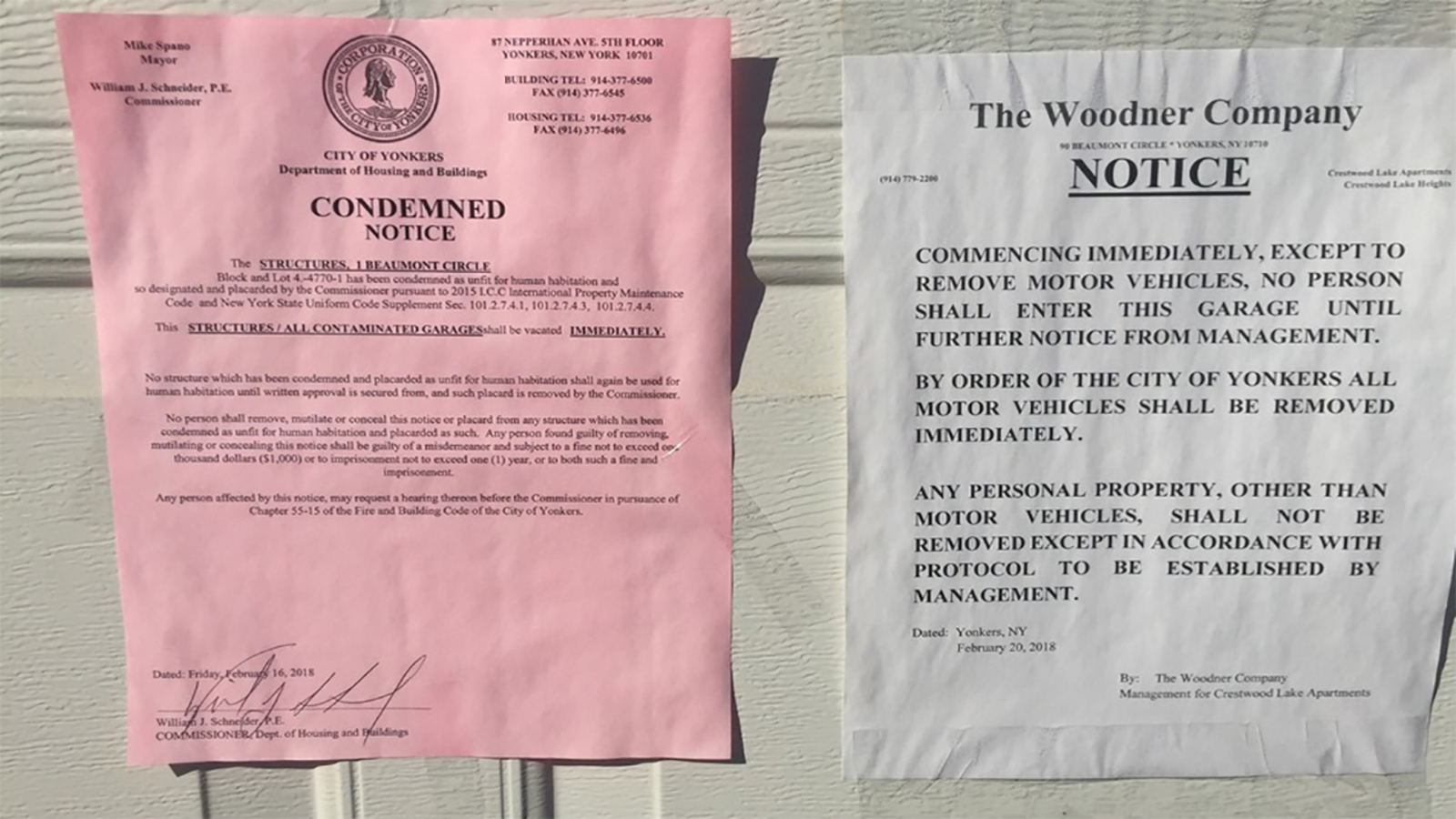 Asbestos Closes Garages In Yonkers Apartment Complex