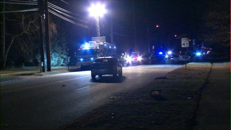 Mom killed, child seriously injured after being struck by car in