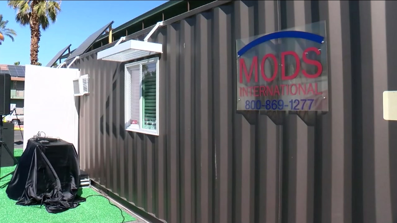 Tiny House Village Aims To Turn Shipping Containers Into Affordable