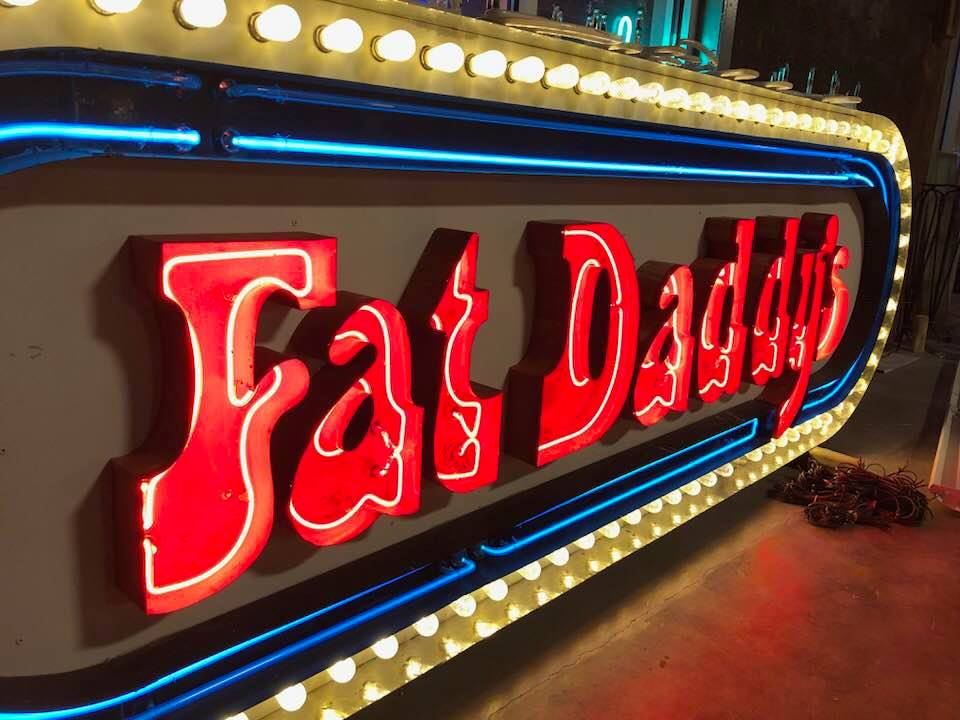 History in neon: The Triangle's vintage signs | abc11 com