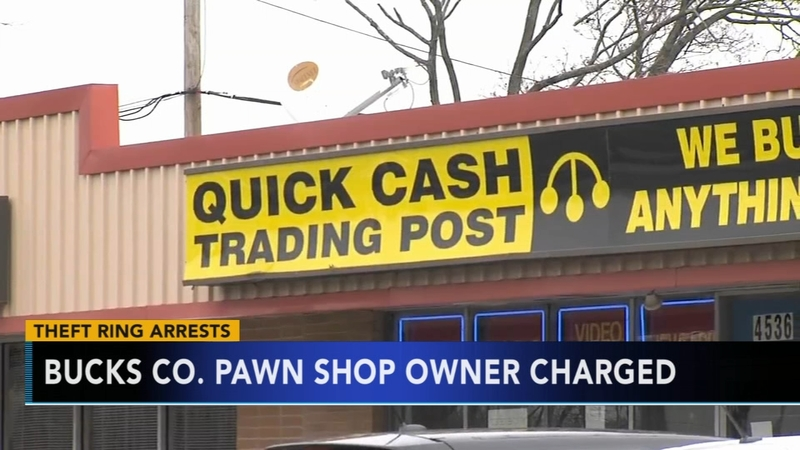 10e50306d Dozens charged in Bucks Co. pawn shop theft ring | 6abc.com