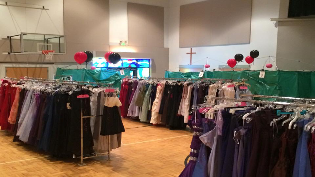c319a37463b Prom Shoppe will be located at the Apex United Methodist Church on March 16  and 17.