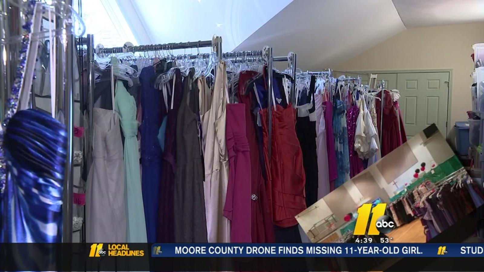 e10bf1261e8 Apex United Methodist Church hosts Prom Shoppe with free dresses ...