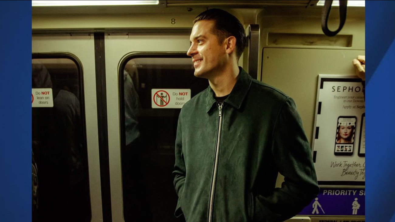 brand new e85e0 dc4ca Hometown hero G-Eazy rides BART to sold-out Oakland show ...