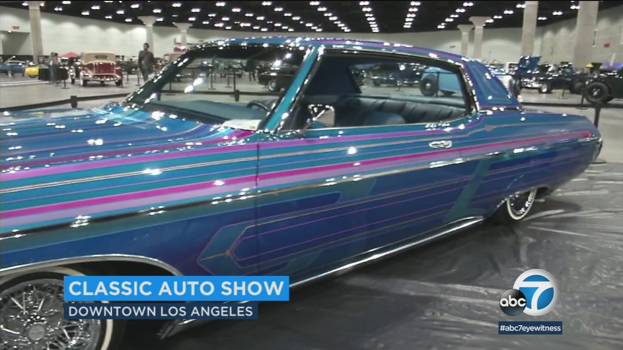Classic car show in downtown LA offers something for any car ...