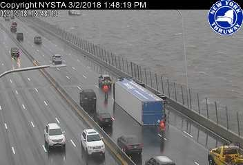 <div class='meta'><div class='origin-logo' data-origin='none'></div><span class='caption-text' data-credit='@ParkwayPolice'>Overturned truck on the Mario Cuomo/ Tappan Zee Bridge</span></div>