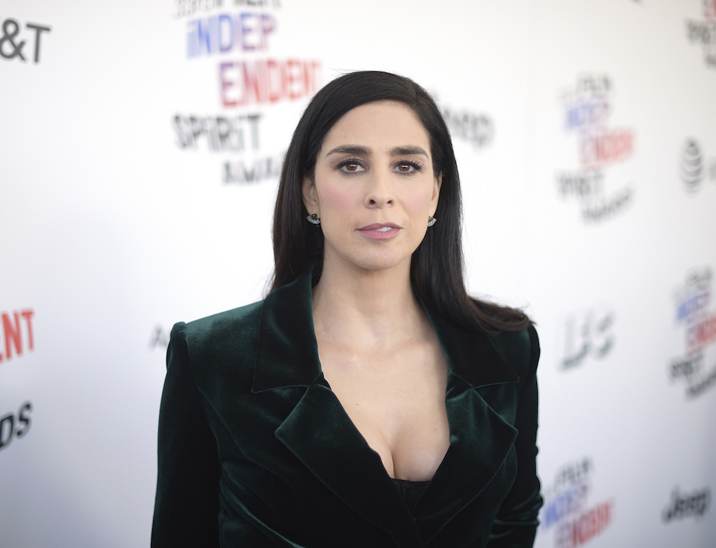 "<div class=""meta image-caption""><div class=""origin-logo origin-image ap""><span>AP</span></div><span class=""caption-text"">Sarah Silverman arrives at the 33rd Film Independent Spirit Awards on Saturday, March 3, 2018, in Santa Monica, Calif. (Richard Shotwell/Invision/AP)</span></div>"