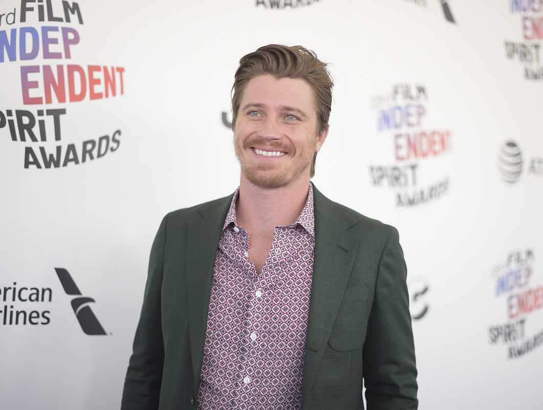 "<div class=""meta image-caption""><div class=""origin-logo origin-image ap""><span>AP</span></div><span class=""caption-text"">Garrett Hedlund arrives at the 33rd Film Independent Spirit Awards on Saturday, March 3, 2018, in Santa Monica, Calif. (Richard Shotwell/Invision/AP)</span></div>"