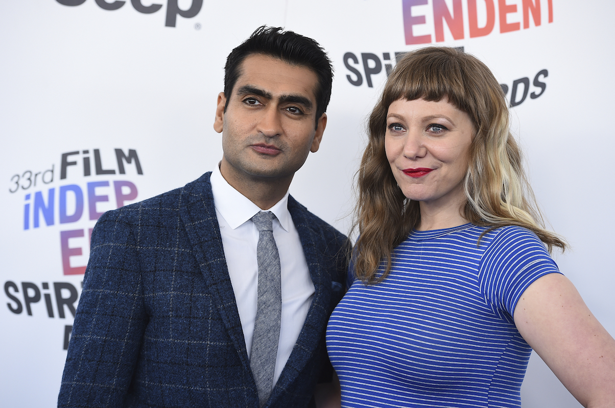 "<div class=""meta image-caption""><div class=""origin-logo origin-image ap""><span>AP</span></div><span class=""caption-text"">Kumail Nanjiani, left, and Emily V. Gordon arrive at the 33rd Film Independent Spirit Awards on Saturday, March 3, 2018, in Santa Monica, Calif. (Jordan Strauss/Invision/AP)</span></div>"