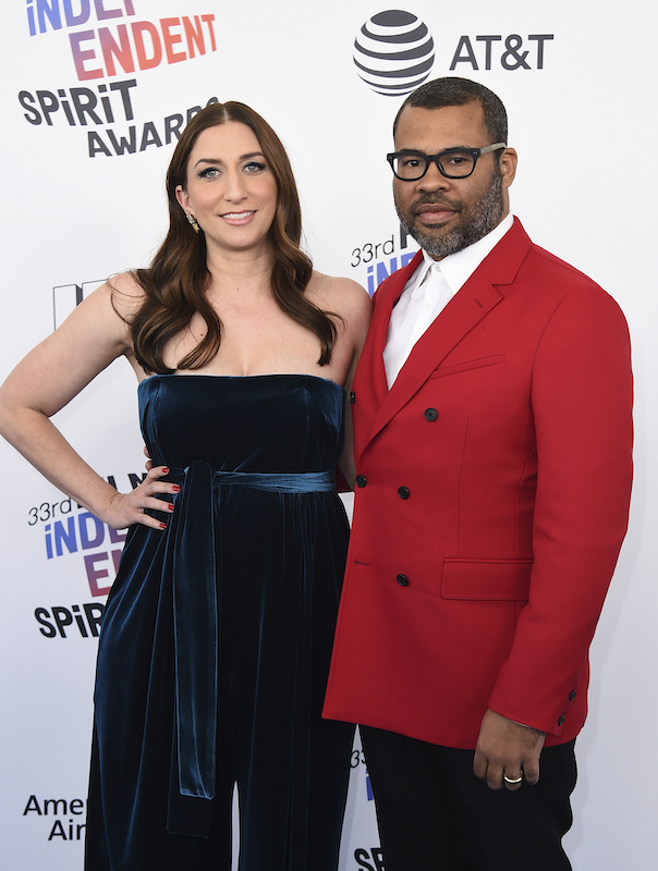 "<div class=""meta image-caption""><div class=""origin-logo origin-image ap""><span>AP</span></div><span class=""caption-text"">Chelsea Peretti, left, and Jordan Peele arrive at the 33rd Film Independent Spirit Awards on Saturday, March 3, 2018, in Santa Monica, Calif. (Jordan Strauss/Invision/AP)</span></div>"