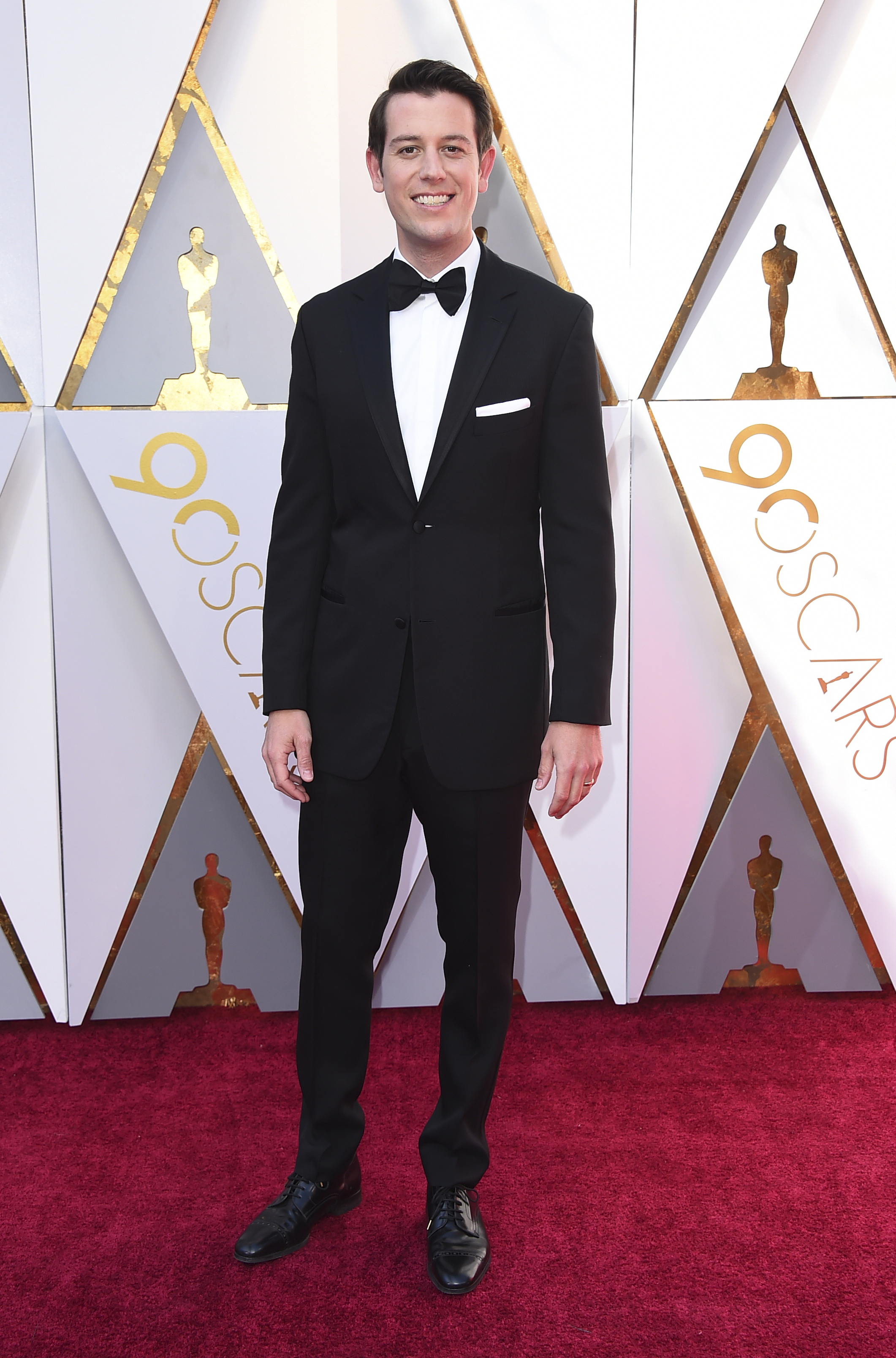 <div class='meta'><div class='origin-logo' data-origin='none'></div><span class='caption-text' data-credit='Jordan Strauss/Invision/AP'>Ben Lyons arrives at the Oscars on Sunday, March 4, 2018, at the Dolby Theatre in Los Angeles.</span></div>