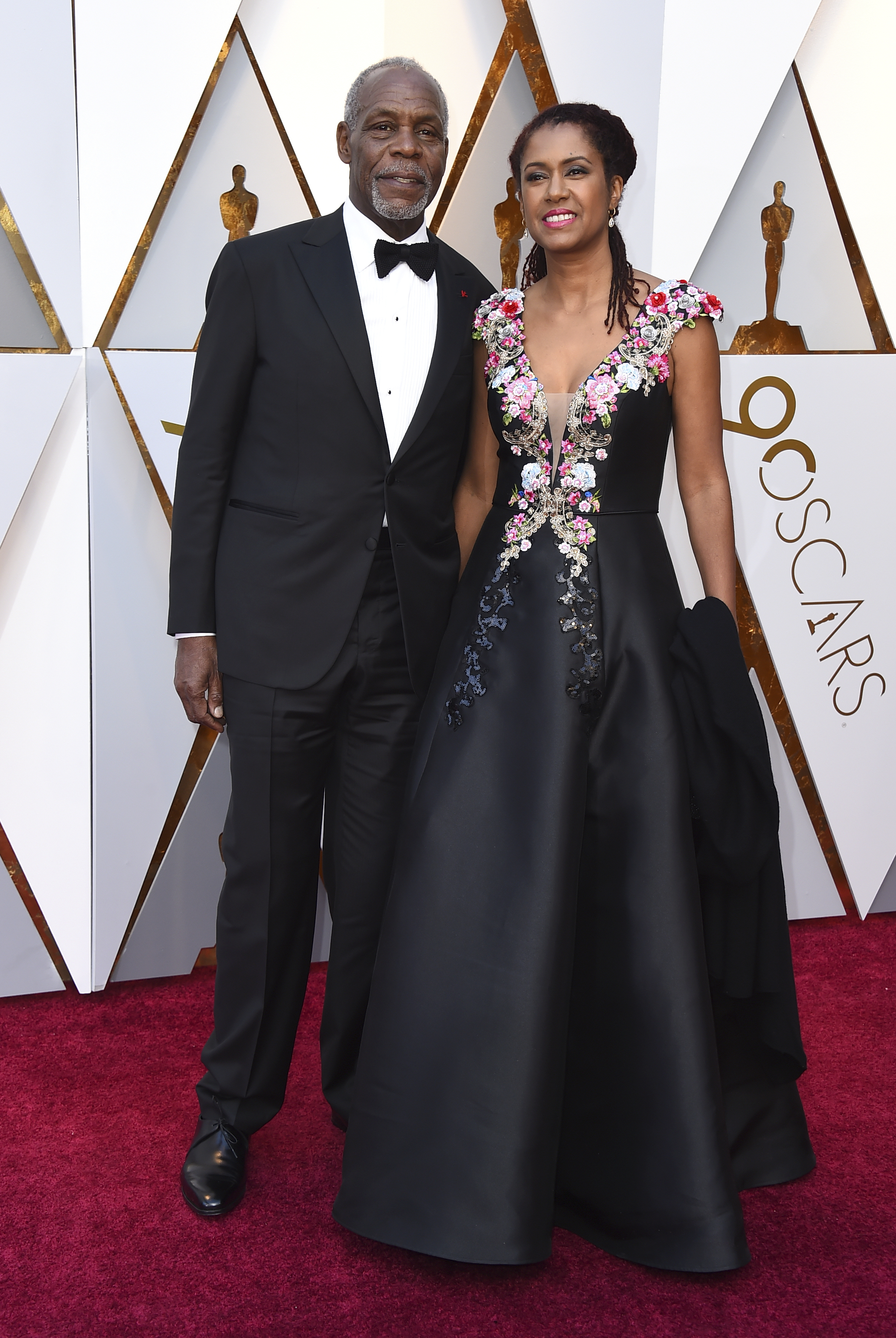 <div class='meta'><div class='origin-logo' data-origin='none'></div><span class='caption-text' data-credit='Jordan Strauss/Invision/AP'>Danny Glover, left, and Eliane Cavalleiro arrive at the Oscars on Sunday, March 4, 2018, at the Dolby Theatre in Los Angeles.</span></div>