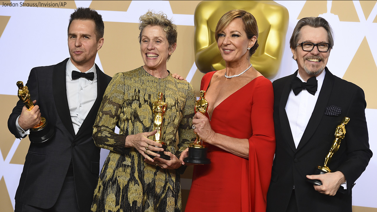 Image of 2018 oscar winners