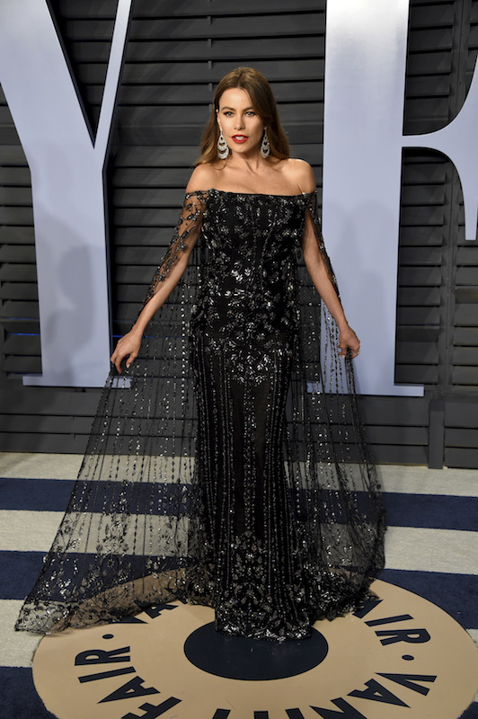 "<div class=""meta image-caption""><div class=""origin-logo origin-image ap""><span>AP</span></div><span class=""caption-text"">Sofia Vergara arrives at the Vanity Fair Oscar Party on Sunday, March 4, 2018, in Beverly Hills, Calif. (Evan Agostini/Invision/AP)</span></div>"
