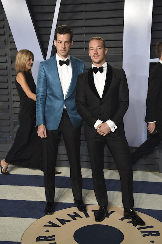 "<div class=""meta image-caption""><div class=""origin-logo origin-image ap""><span>AP</span></div><span class=""caption-text"">Mark Ronson, left, and Diplo arrive at the Vanity Fair Oscar Party on Sunday, March 4, 2018, in Beverly Hills, Calif. (Evan Agostini/Invision/AP)</span></div>"