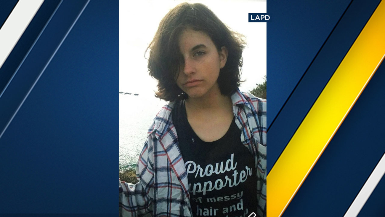 Shannon O'Connor, 16, is missing from the North Hollywood area.