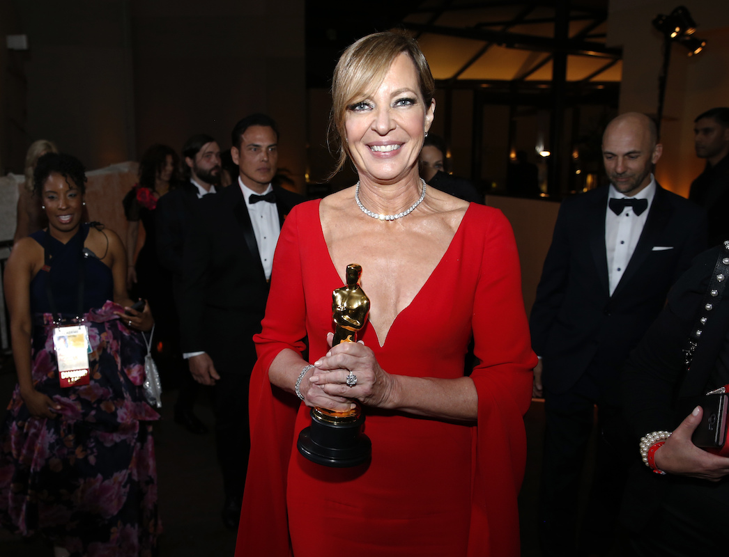 "<div class=""meta image-caption""><div class=""origin-logo origin-image ap""><span>AP</span></div><span class=""caption-text"">Allison Janney, winner of the award for best performance by an actress in a supporting role for ""I, Tonya""€, attends the Governors Ball after the Oscars. (Eric Jamison/Invision/AP)</span></div>"