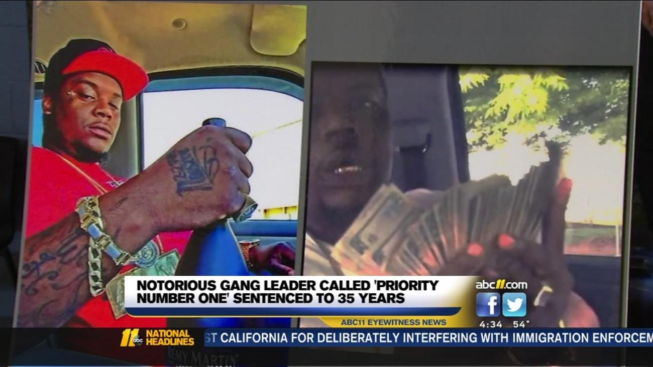 Notorious gang leader sentenced