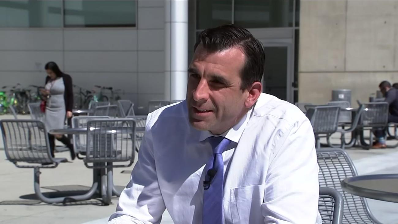 San Jose Mayor Sam Liccardo is seen in San Jose, Calif. on Wednesday, March 7, 2018.