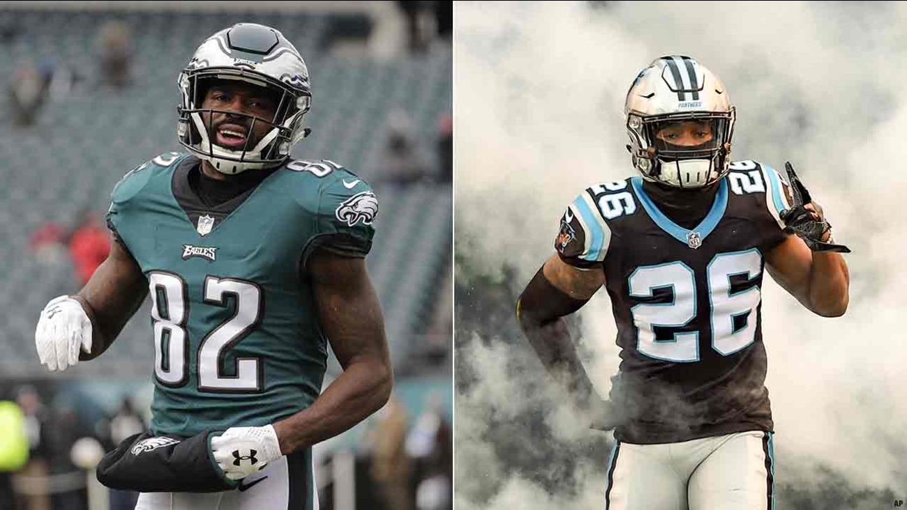 Eagles trade Torrey Smith to Carolina in exchange for CB Daryl Worley