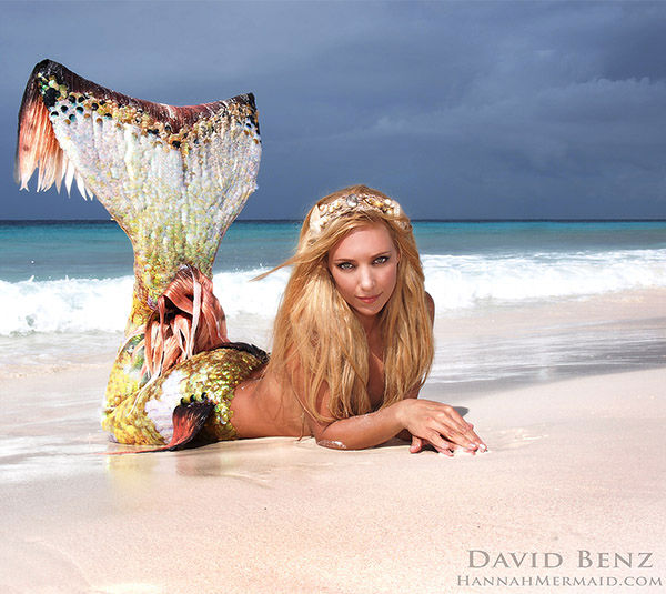 "<div class=""meta image-caption""><div class=""origin-logo origin-image ""><span></span></div><span class=""caption-text"">Born in Byron Bay, Australia, Hannah Fraser was obsessed with mermaids since an early age. Not just a model, Hannah is a perforance artist with an ocean conservation agenda. (David Benz/HannahMermaid.com)</span></div>"