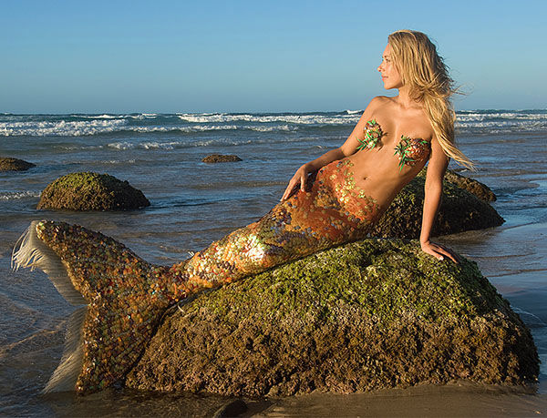 "<div class=""meta image-caption""><div class=""origin-logo origin-image ""><span></span></div><span class=""caption-text"">Born in Byron Bay, Australia, Hannah Fraser was obsessed with mermaids since an early age. Not just a model, Hannah is a perforance artist with an ocean conservation agenda. (David Warth/HannahMermaid.com)</span></div>"