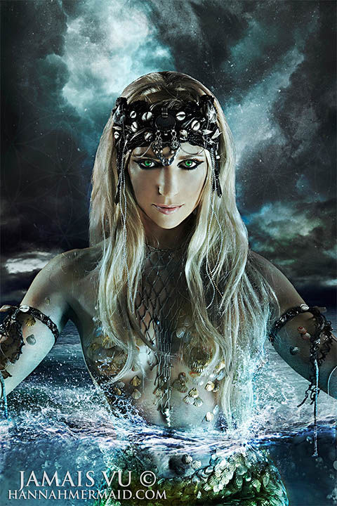 "<div class=""meta image-caption""><div class=""origin-logo origin-image ""><span></span></div><span class=""caption-text"">Born in Byron Bay, Australia, Hannah Fraser was obsessed with mermaids since an early age. Not just a model, Hannah is a perforance artist with an ocean conservation agenda. (Jamais VU/HannahMermaid.com)</span></div>"